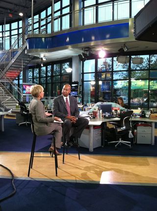 Todd McGhee is interviewed by Kim Carrigan at Fox 25 on Terror Suspect