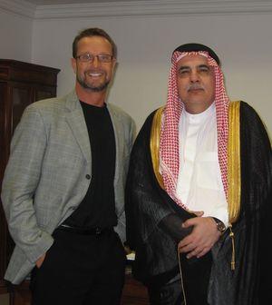 Jeff Ornstein in Saudi Arabia