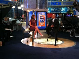 Dick Pirozzolo Photo© at FOX Interview