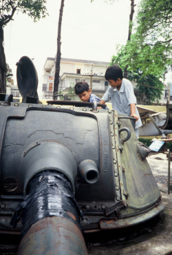 Museum in Saigon ©1995 Dick Pirozzolo