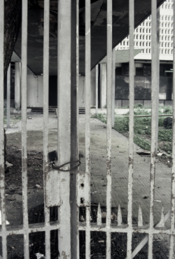 The US Embassy remained vacent for two decades beofre it was razed 1995 Dick Pirozzolo