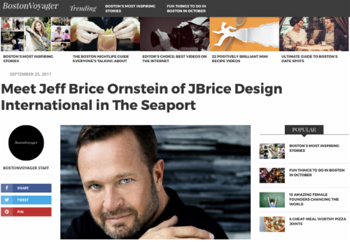 Jeff Ornsteein JBrice Design Pirozzolo Company